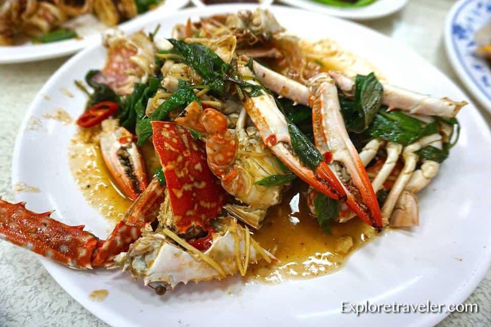 Chili crab in Taiwan