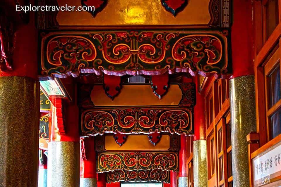 Hsing Tian Kong temple in Taipei Taiwan