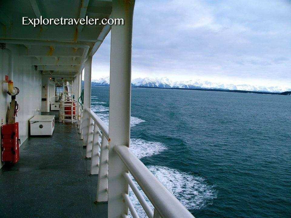 Alaska Marine Highway - Ketchikan, Southeastern Alaska USA