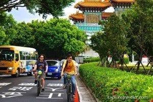 Bicycle Treking in Taipei...What a fun day