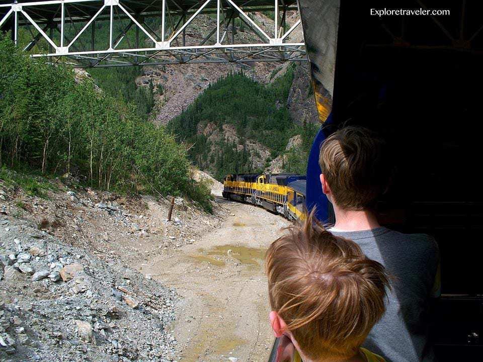 Going North in Alaska! A breathtaking adventure on the Alaska Railroad