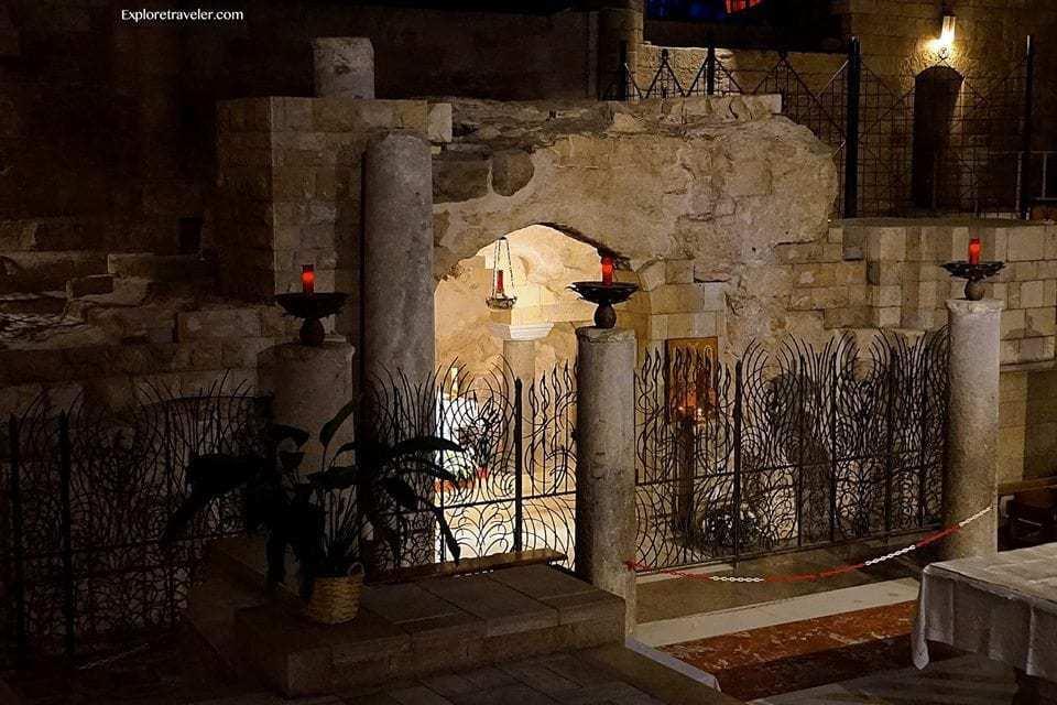 Basilica annunciation site