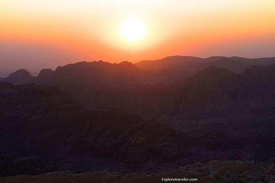 Mountains over Petra