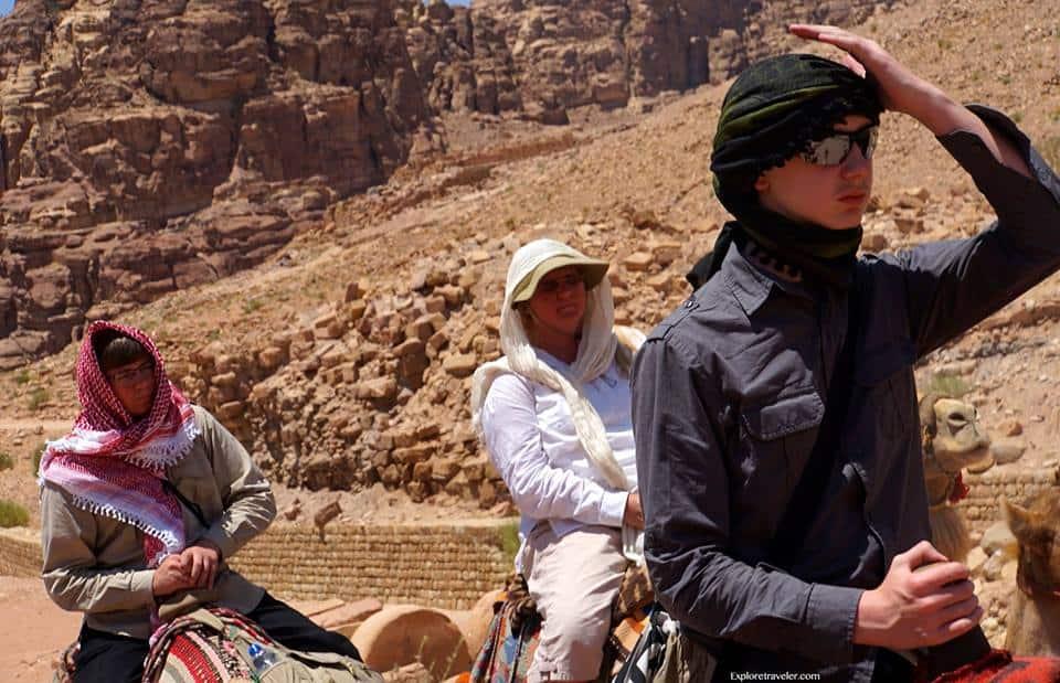 Journey through Petra