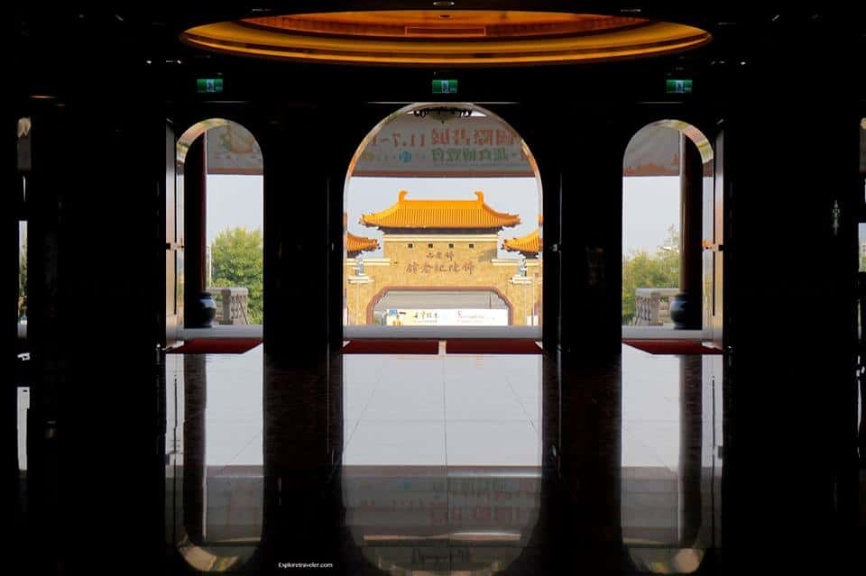 Gate to Fo Guang Shan in Kaohsiung