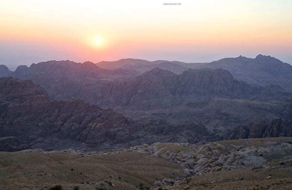 Mountains of petra