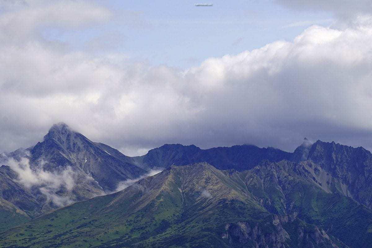 Photo of the day ~ Talkeetna Mountains of Palmer Alaska