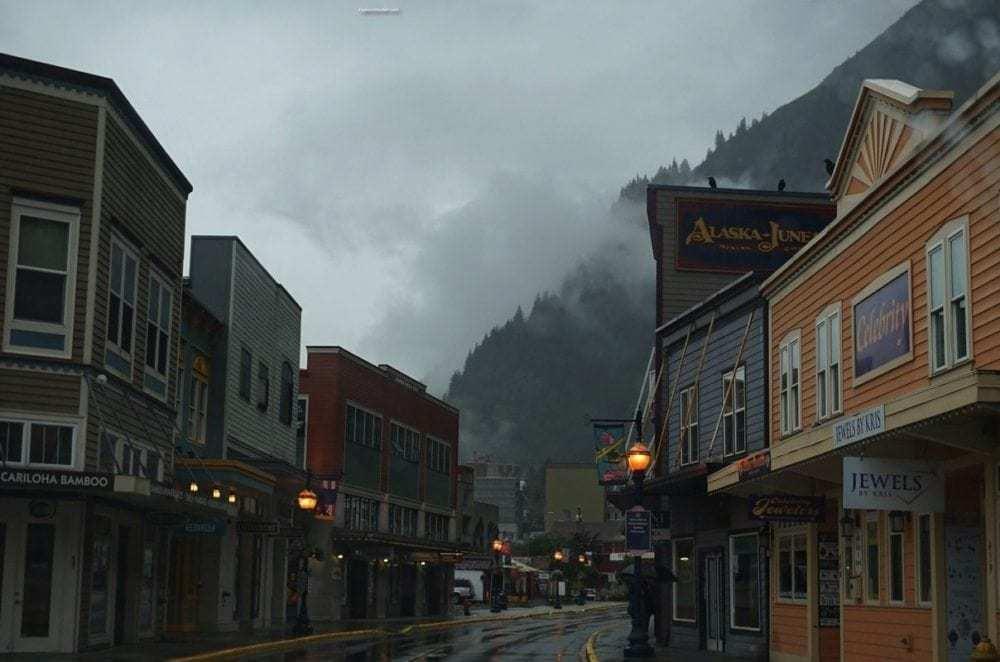 Alaska Marine Highway ~ Juneau echoing the old Gold Rush days in Alaska