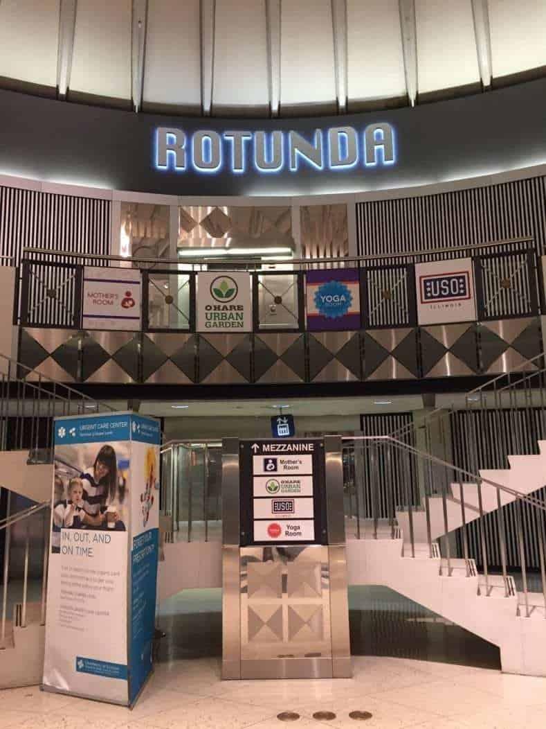 Chicago ORD Center Rotunda