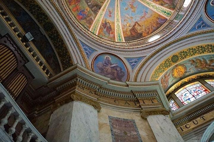 Dome of Stella Maris Carmelite Monastery