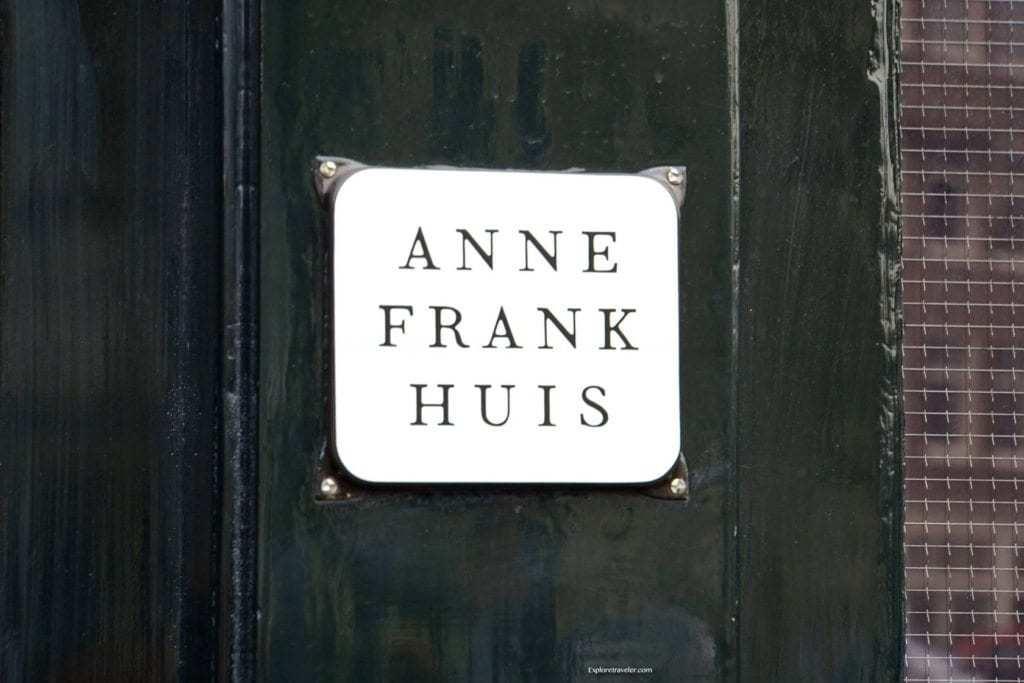 visit Anne Frank Huis Amsterdam