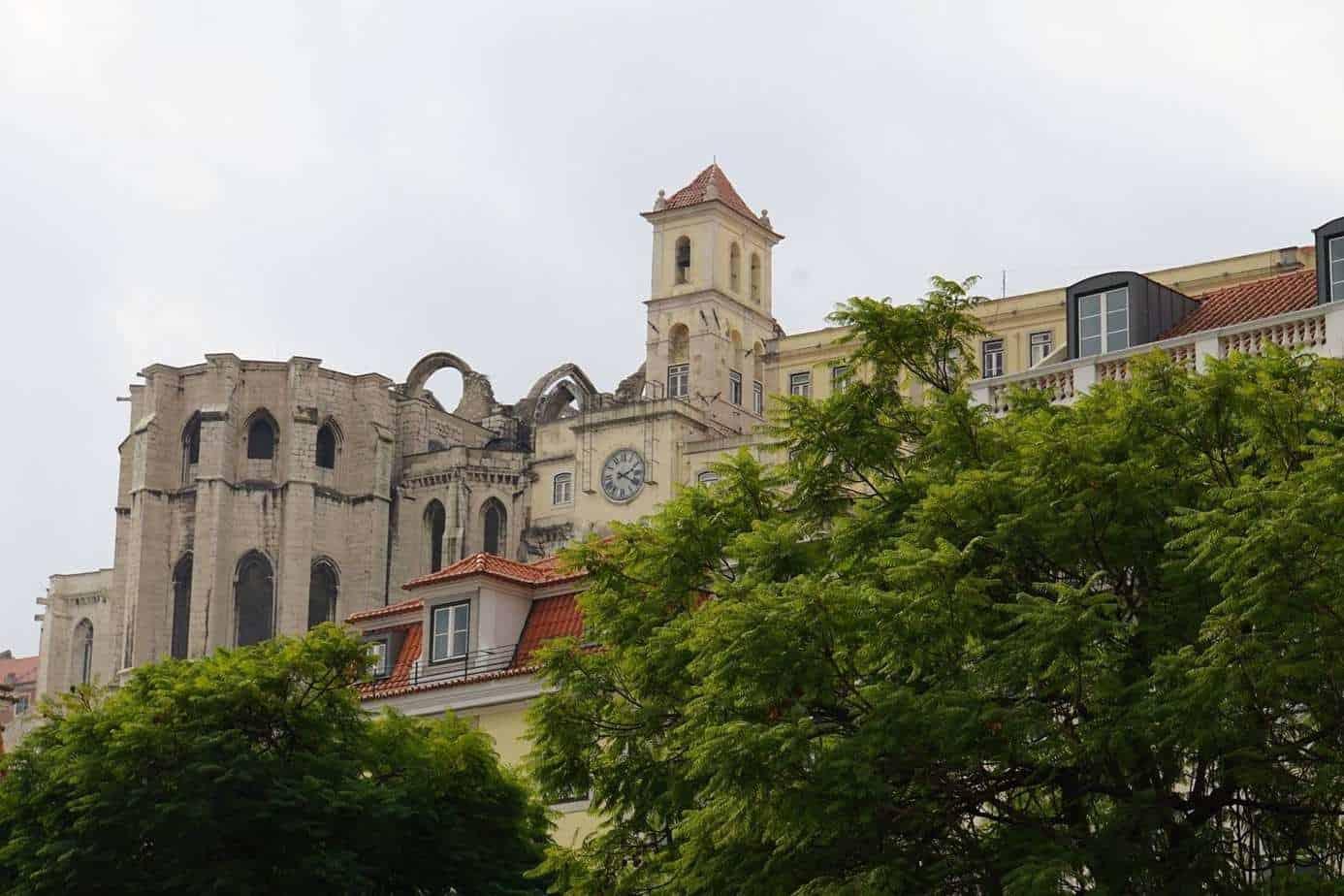 ExploreTraveler Presents: Exploring Lisbon Portugal Part 1 - A castle on top of a building - Carcassonne