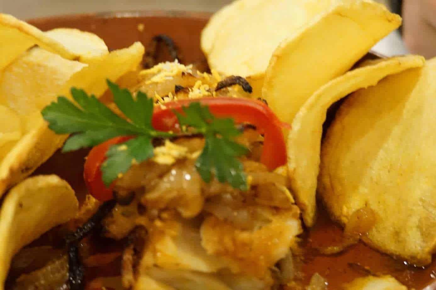 ExploreTraveler Presents: Exploring Lisbon Portugal Part 1 - A close up of a plate of food - Lisbon