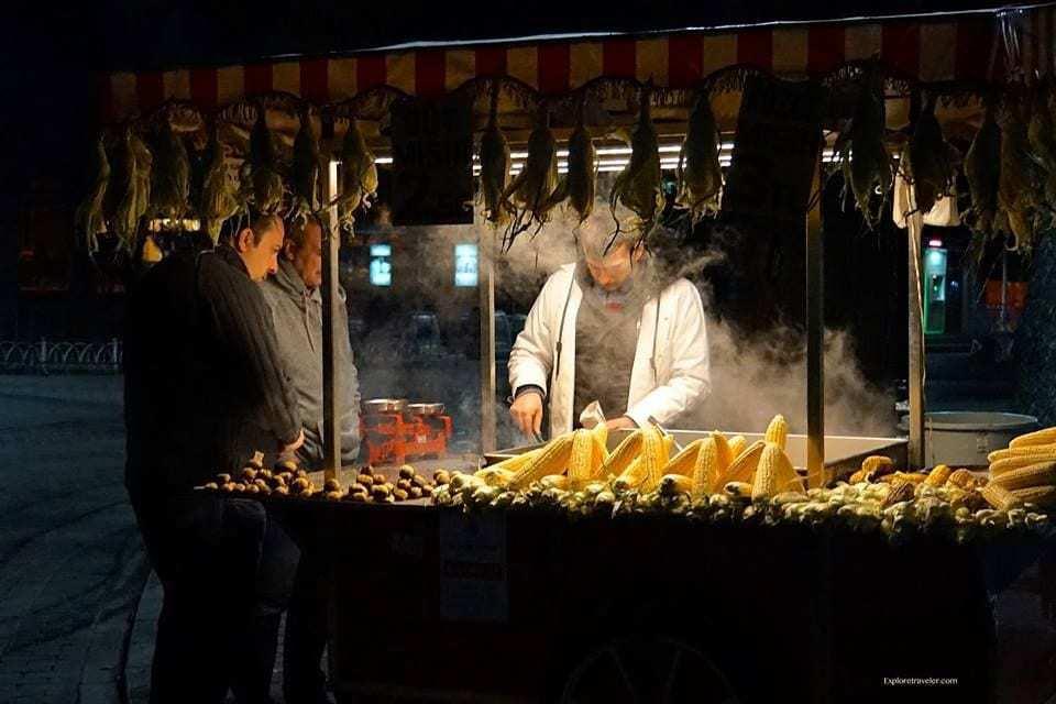 food of Istanbul Turkey