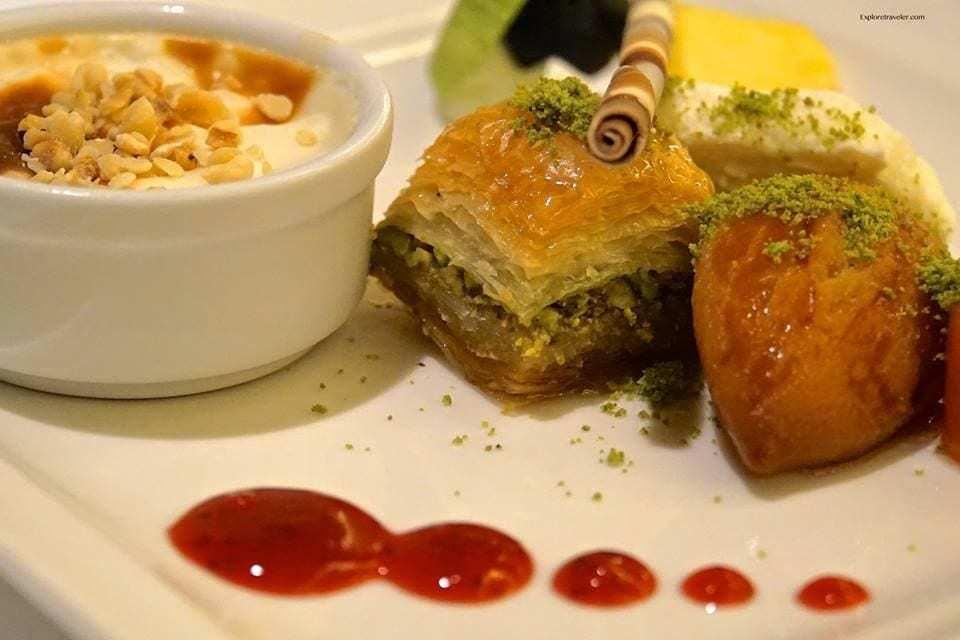 food on Istanbul Turkey