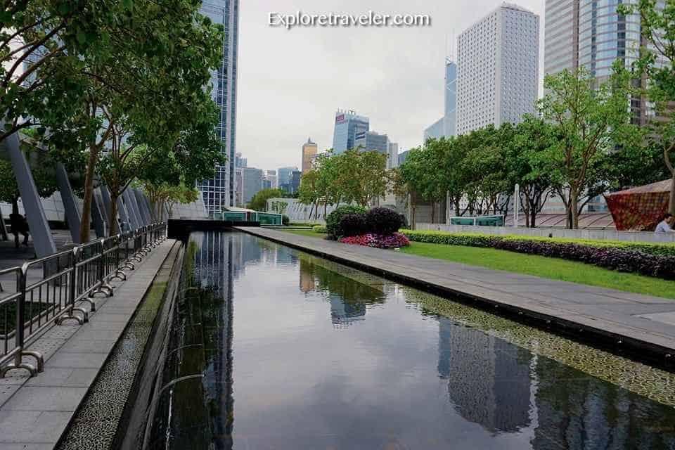 IFC Rooftop Garden Hong Kong