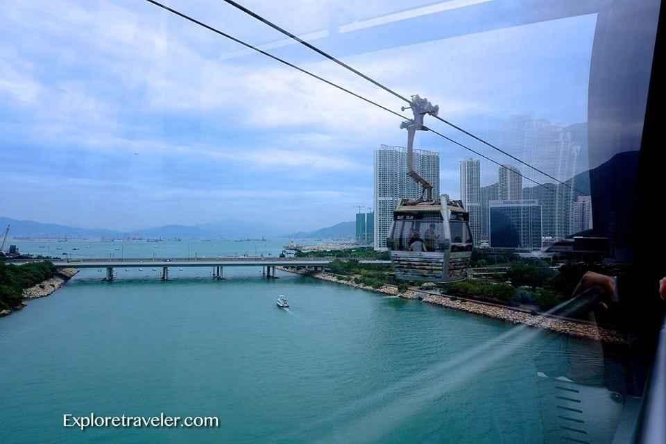 Ngong Ping Cable Cars Hong Kong