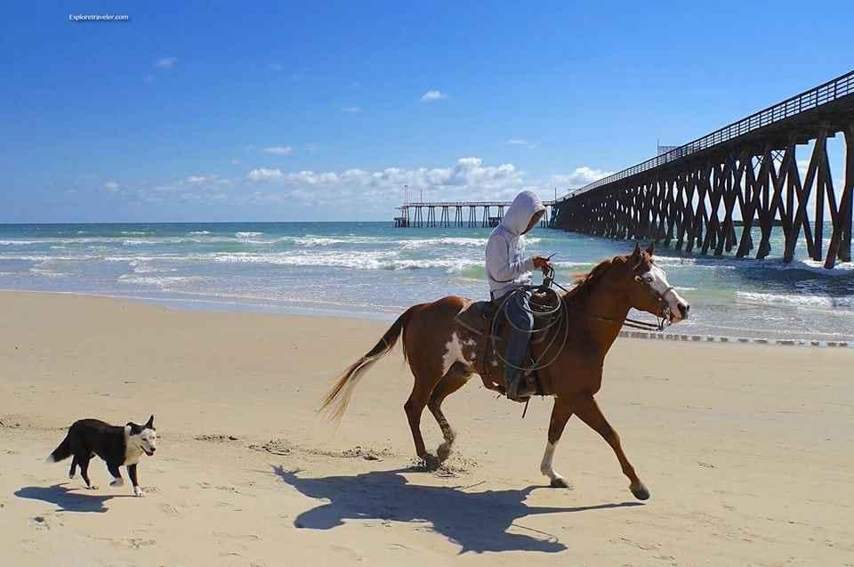 horse back riding in Baja California Mexico