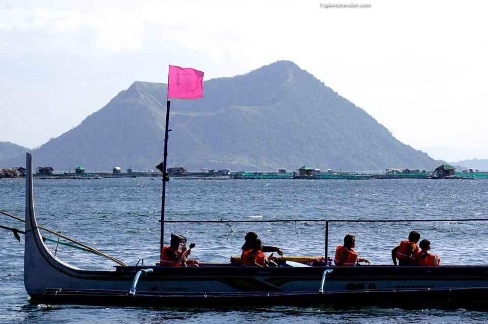 Mt. Binintiang Malaki Volcanic Crater on Luzon Island