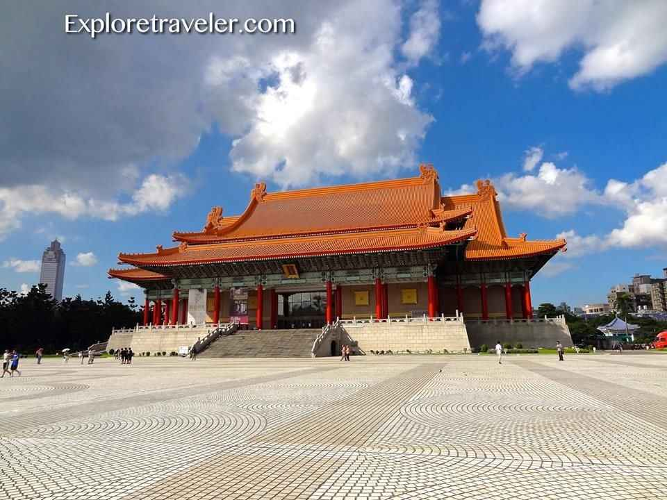 The Gate Of Great Piety In Taipei Taiwan