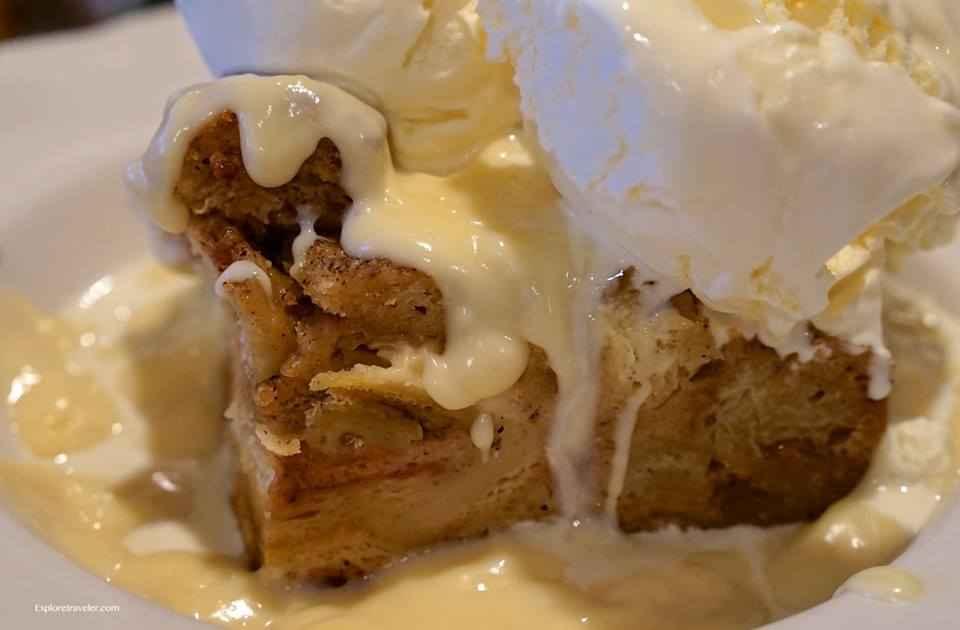 Sour Dough Bread Pudding