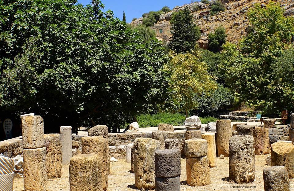 Agrippa Palace In Caesarea Philippi