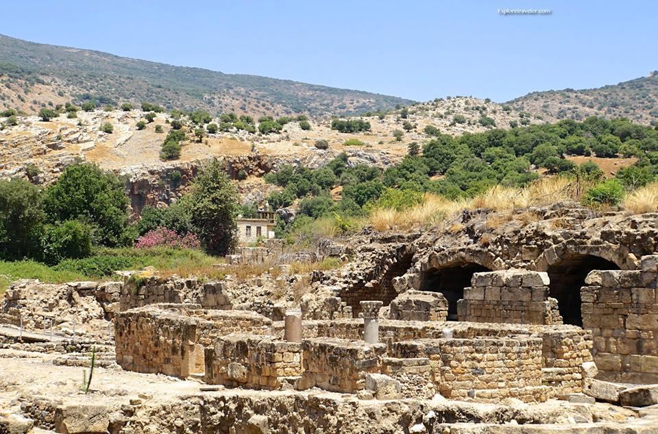 Agrippa Palace In Caesarea Philippi 2