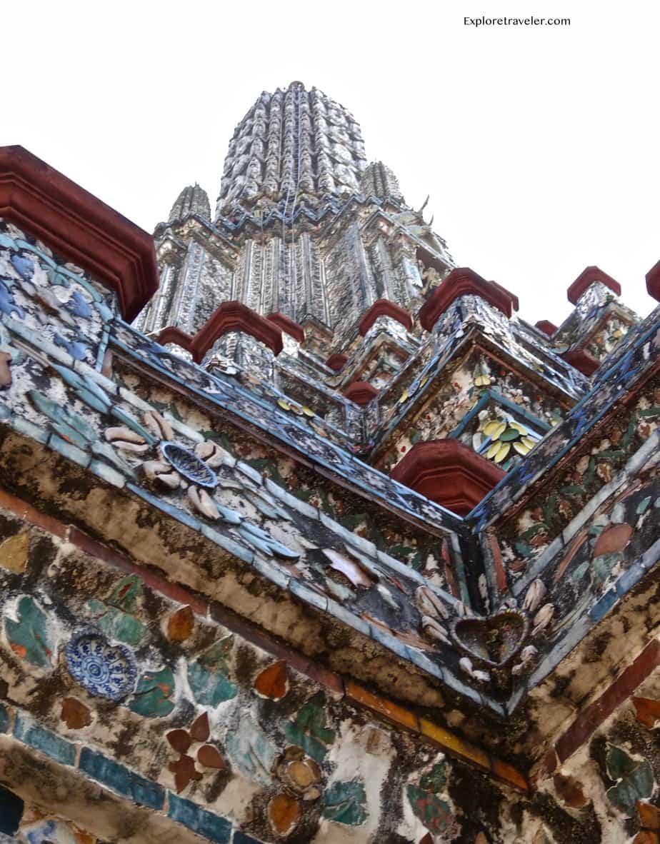 Temple of dawn unique architecture and art.
