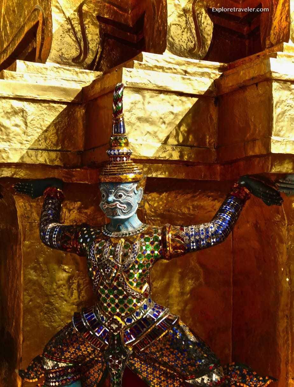 Thailand ancient architecture.