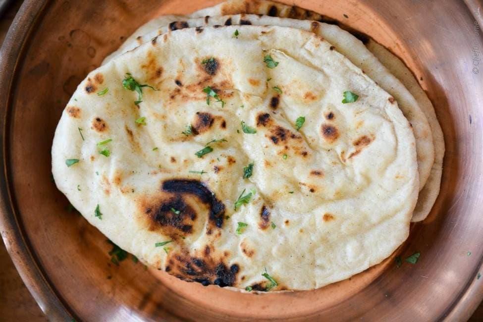 Indian Tandoori Naan