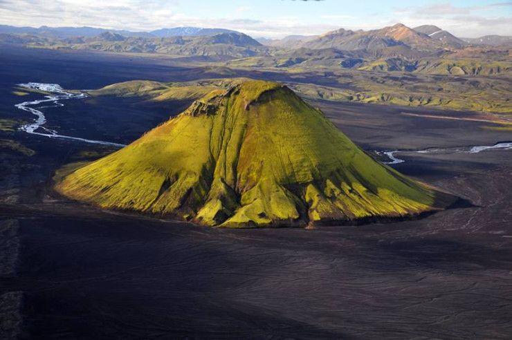 Maelifell Volcano iceland