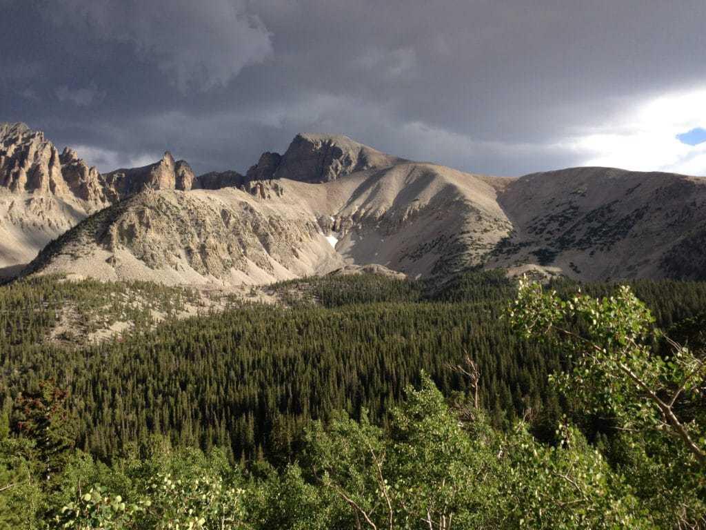 The Wheeler Peak Wilderness