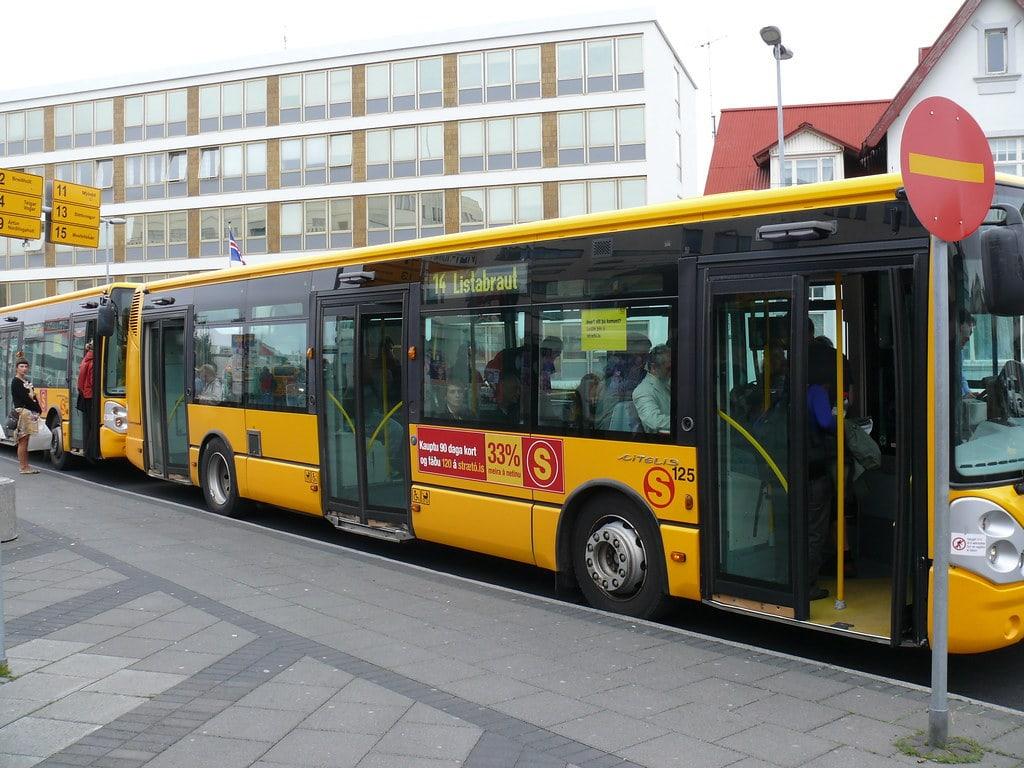 public transport in iceland