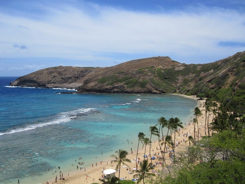 Hawaii tourist destination