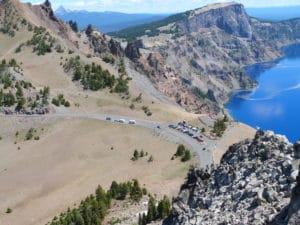 Monarch Lake to Crater Lake