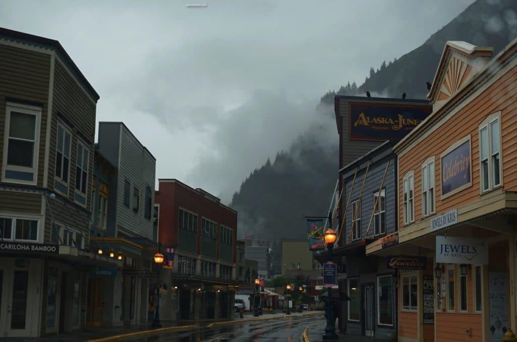 Juneau Alaska Downtown