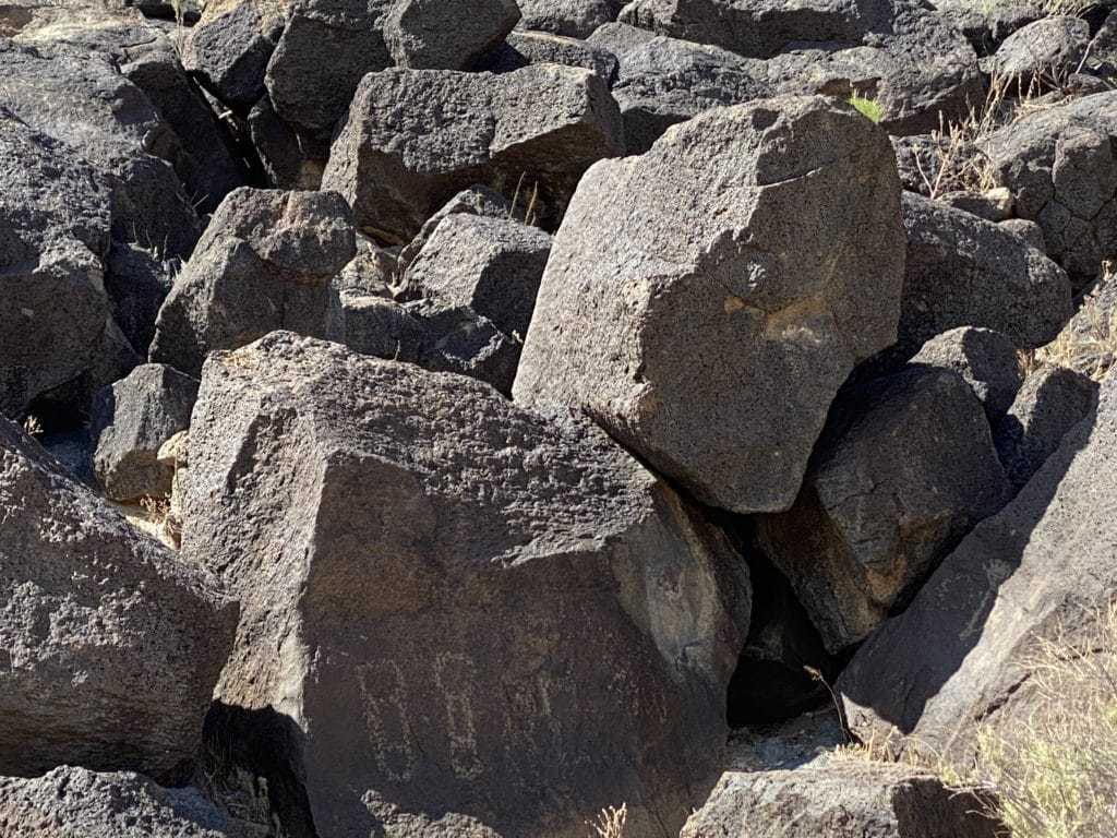 Humanoid Petroglyth Piedras Marcadas Canyon Trail