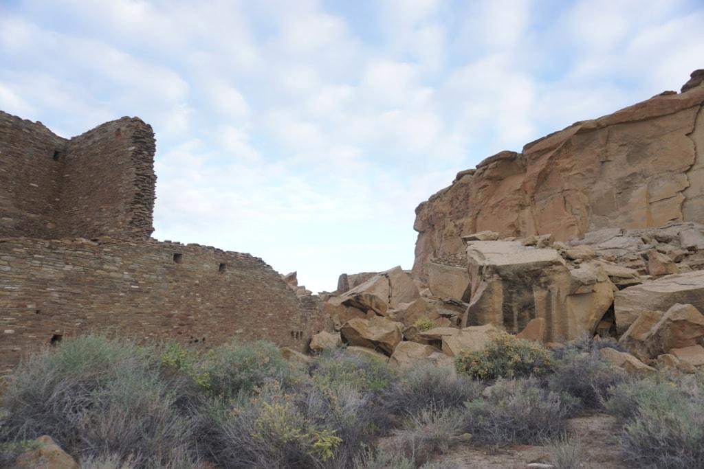 Chaco Culture National Historical Park Pueblo Bonito