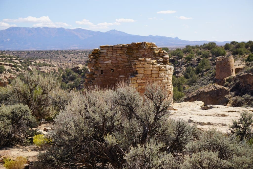Tower Point Hovenweep National Monument in Canyons of the Ancients